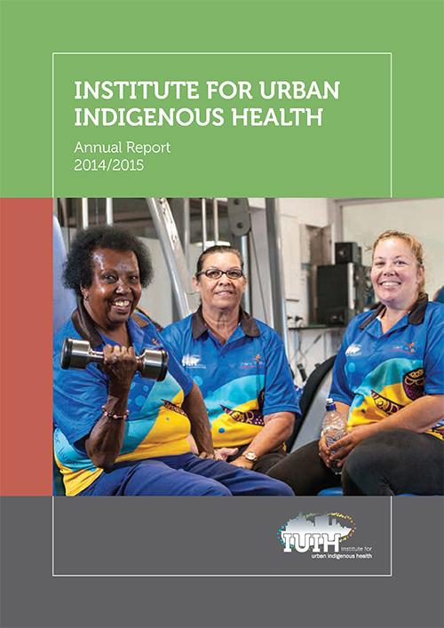 IUIH Annual Report 2014-15