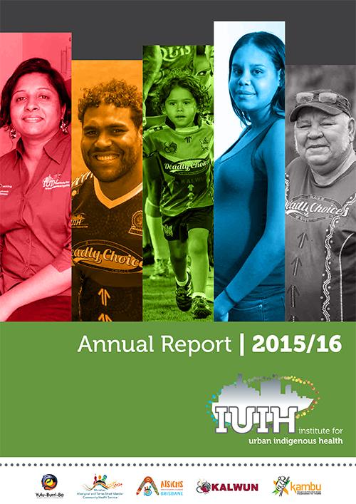 IUIH Annual Report 2015-16